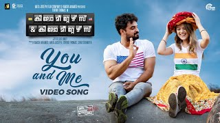Kilometers & Kilometers | You And Me Video Song| Tovino Thomas, India Jarvis | Sooraj S Kurup | HD