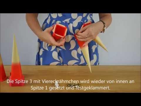 Tutorial: Aufbau eines Herrnhuter Papiersterns
