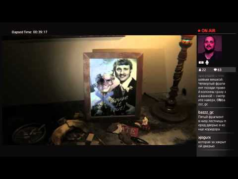 JjAR01 проходит Демо Silent Hills PS4