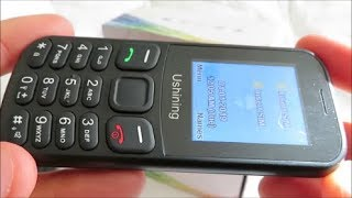 Ushining Mobile Phone (Unlocked GSM) - Unboxing and Hands-On - Compatible With T-Mobile