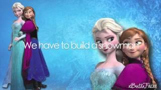 Fatai - Do You Wanna Build A Snowman (LYRICS ON SCREEN)