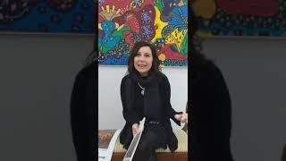 Una mostra di esplosione di colore danzante quella di Lorenza Parrotta