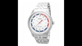 Видео обзор наручных часов ORIENT SQC0U004W0