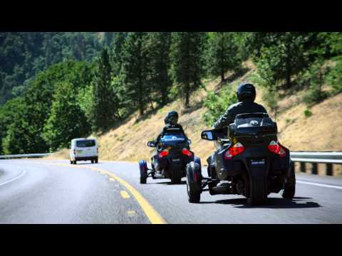 2016 Can-Am Spyder F3-T SM6 w/ Audio System in Cedar Falls, Iowa - Video 2