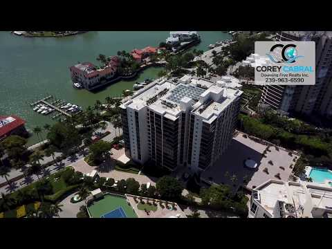 Park Shore Allegro Real Estate Flyover in Naples, Florida