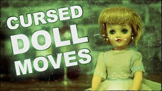 Real Cursed Doll Moves On Camera