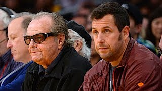 Adam Sandler: What Its Like To Sit Courtside With Jack Nicholson | The Dan Patrick Show | 3/16/18