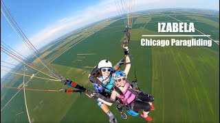 Tandem with Izabela | Chicago Paragliding