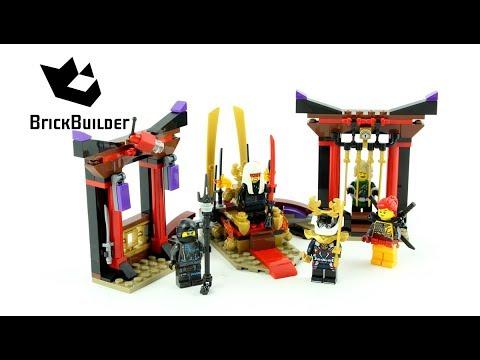 Lego Ninjago 70651 Throne Room Showdown - Lego Speed build