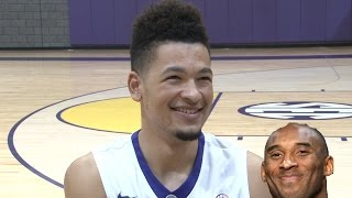 LSU basketball players answer the hard-hitting questions