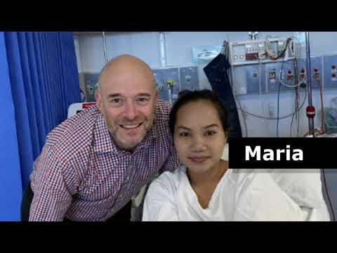 Ana, Maria and Anina receive life-saving heart surgery