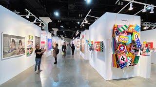 LA ART SHOW 2020  Walk Around
