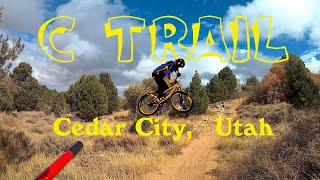 A short video from high up on the C Trail near Cedar City.