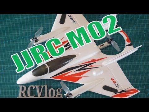 JJRC M02. Классная модель VTOL