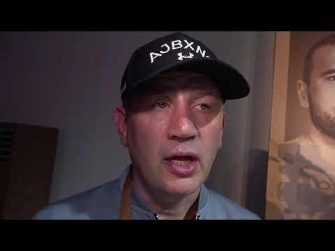 Joshua Coach Rob McCracken reacting to AJ win RUIZ VS JOSHUA 2 EsNews Boxing