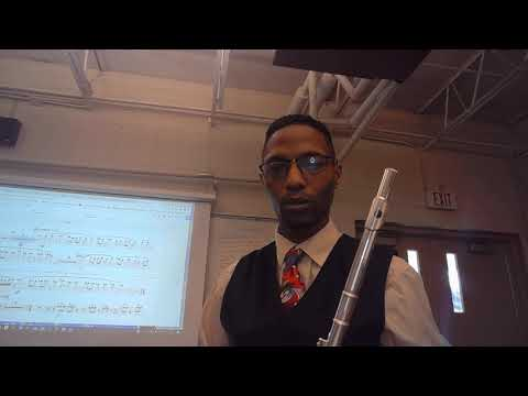 """Title: """"Mystery of the Ancient World"""" Composer: Rob Grice Part: Flute 1"""