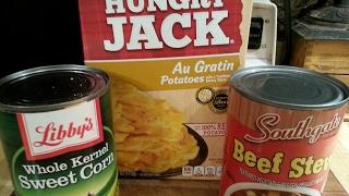 Dollar Tree Meal | Three Ingredient 'Potato Corn Casserole'