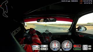 TracKing TT01 Earns Another Podium Finish at Reno SCCA Time Trials #3