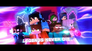 "♪ ""Legends Never Die"" ♪ - An Original Minecraft Animation - [S3 FINALE]"