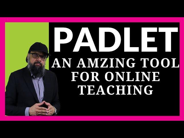Videouttalande av Padlet Engelska