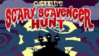 Garfield´s Scary Scavenger Hunt   Full Game Walkthrough   No Commentary