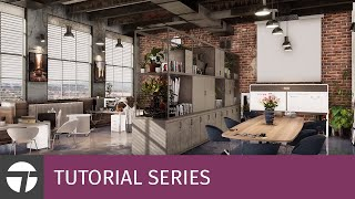 Twinmotion Interior Rendering - Making Of Office By Mohammad Mahdi Molaee