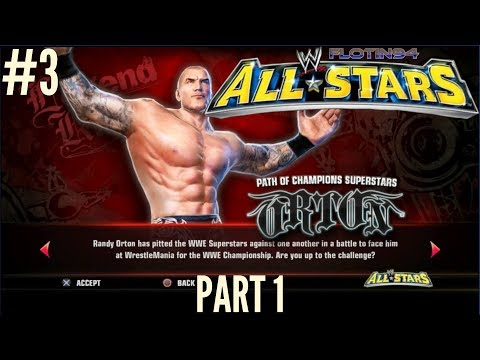 WWE All Stars Ep.3 | Path of Champions Legends Randy Orton Part 1 |CZ/SK|