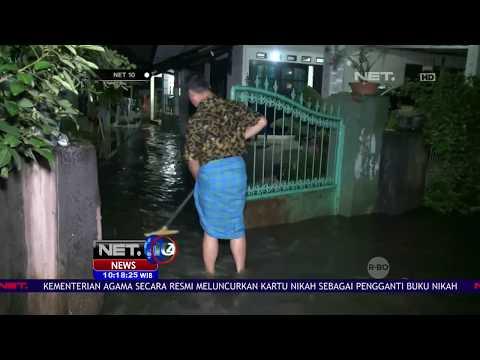 Banjir Merendam Pemukiman Warga di Jakarta- NET 10