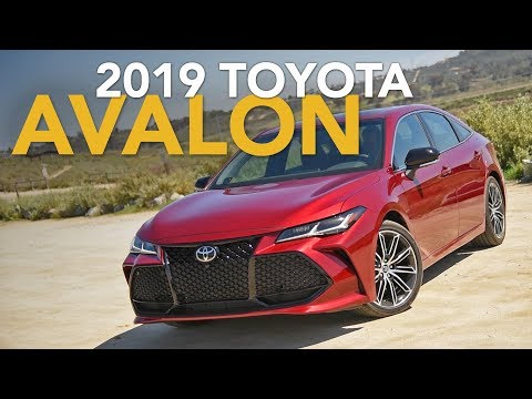 2019 Toyota Avalon Touring Review - First Drive