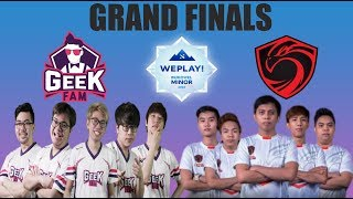 GEEK FAM vs CIGNAL ULTRA - BO5 - WePlay! Bukovel Minor | SEA Qualifiers