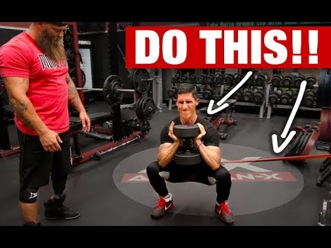 "How to Get a ""MONSTER"" Squat! (3 BEST MOVES)"