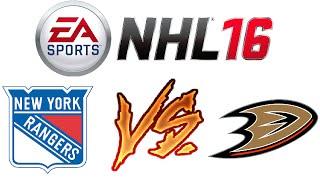 NHL 16 - Online Versus - Challenger Match #1 - My First Challenger! - Video Youtube