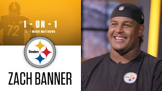 """1-on-1 with Zach Banner: """"I just wanted to show my support to the Pittsburgh fans"""""""