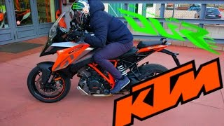 PRUEBA KTM SUPER DUKE 1290 GT test ride  Motovlog en español