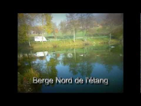 club de pêche au carpodrome de la Fougeraie dans le morvan