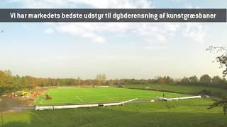 Vejen Idrætscenters nye kunstgræsbane