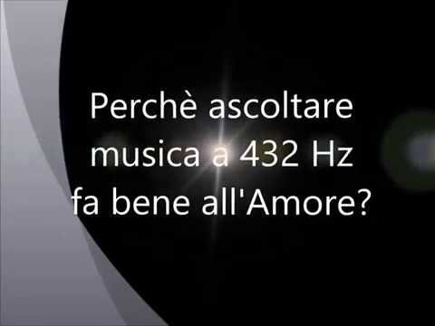 LA MUSICA A 432 Hz PER L'ARMONIA DI COPPIA