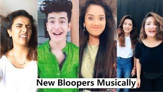 Funny Bloopers Musically | Jannat Zubair, Manjul Khattar, Aashika Bhatia, Avneet Kaur and More