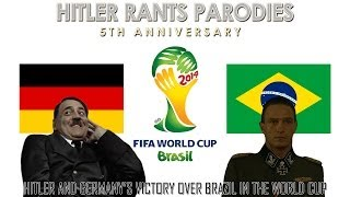 Hitler and Germany's victory over Brazil in the World Cup