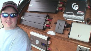 CRAZY Car Audio Systems w/ SHATTERED Windshield BASS FLEX & Loud C-Pillar Subwoofer Wall Install