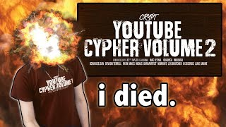 Joey Nato Reacts to YouTube Cypher Vol 2 (Crypt, Quadeca, Mac Lethal, ImDontai, etc)