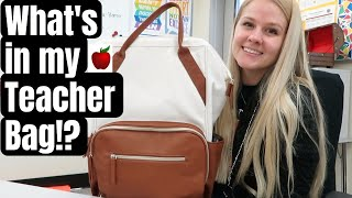 What's In My Teacher Bag - Best Teacher Bag For School