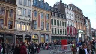 preview picture of video 'Lille - Francia / France  - Centre ville - City tour -Turismo, tourism, travel, tourisme, visit'