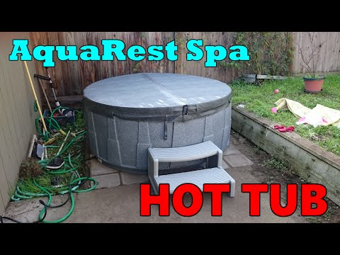 AquaRest Spa Hot tub affordable - plug & play - low power bill Hot Tub