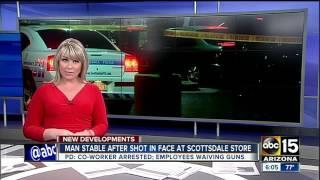 Man shot in face by co-worker in Scottsdale
