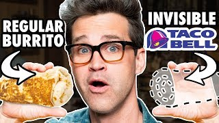 Invisible Food Taste Test