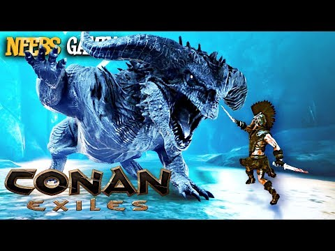 Conan Exiles - DRAGON BATTLE!