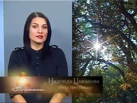 """Авторская программа Надежды Цыгановой: """"По-домашнему"""""""
