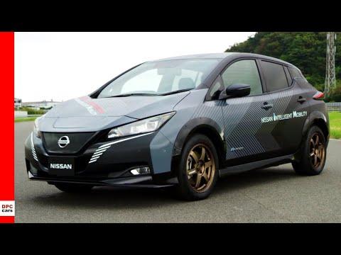 Nissan Leaf Twin Motor All Wheel Control