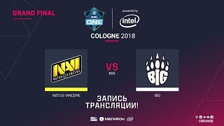 Na`Vi vs BIG - ESL One Cologne 2018 Grand final - map1 - de_overpass [CrystalMay, yxo]